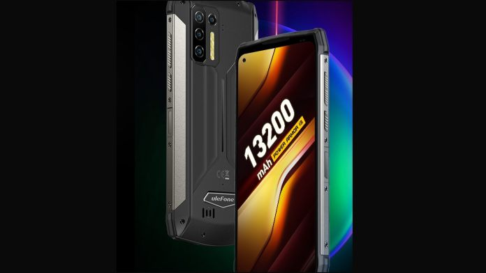 This Android smartphone comes with a massive 13,200mAh battery