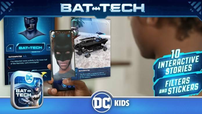 DC: Batman Bat-Tech Edition app launched