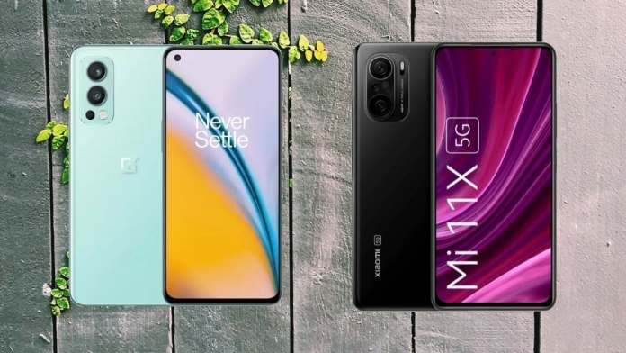 OnePlus Nord 2 vs Mi 11X: Which mid-range smartphone should you get