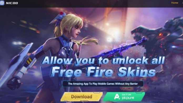Free Fire Nicoo app: How to download, get premium skins, weapons for free
