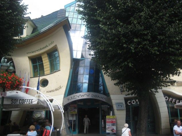 Krzywy Domek (Crooked House), Sopot