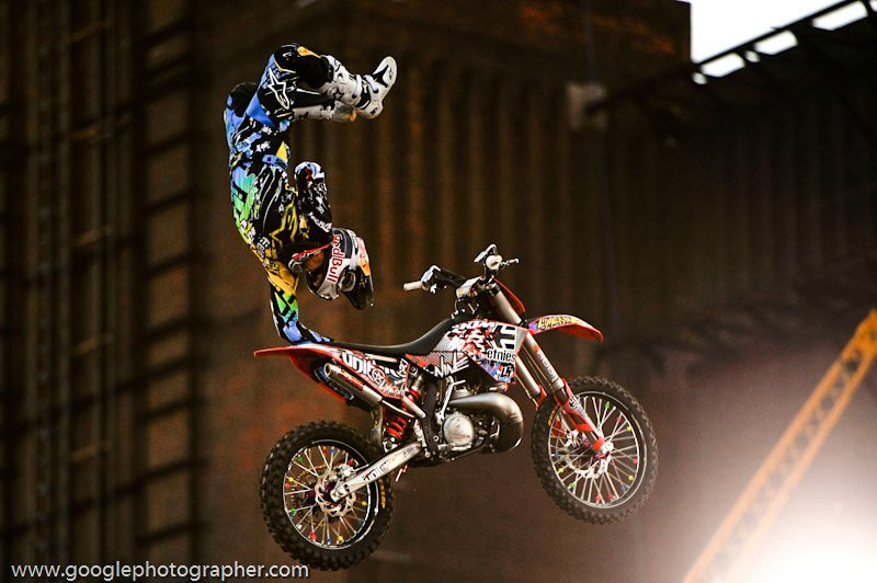 Holding On Redbulll X-Fighters Action Photography