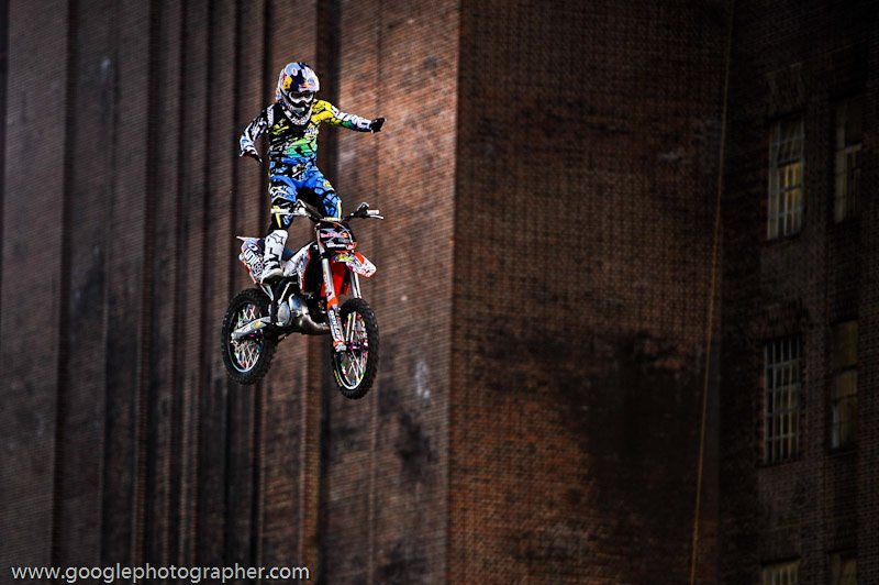 I am Falling Redbulll X-Fighters Action Photography