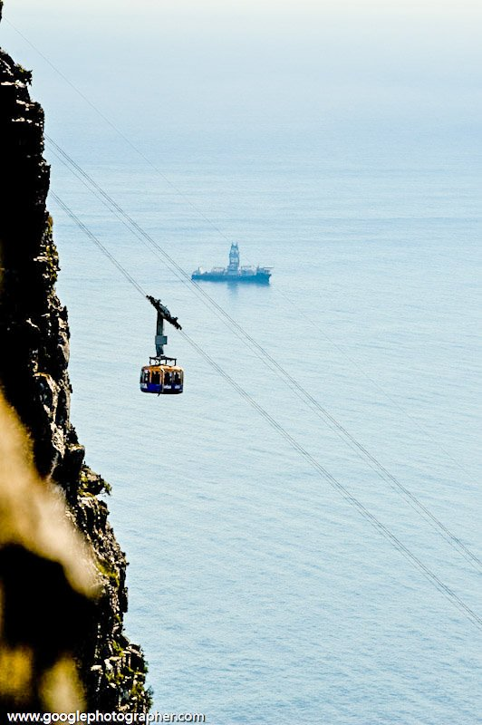 Cable Car Table Mountain Cape Town South Africa Travel Photography