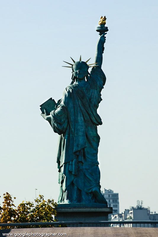 Statue of Liberty Paris France Travel Photography