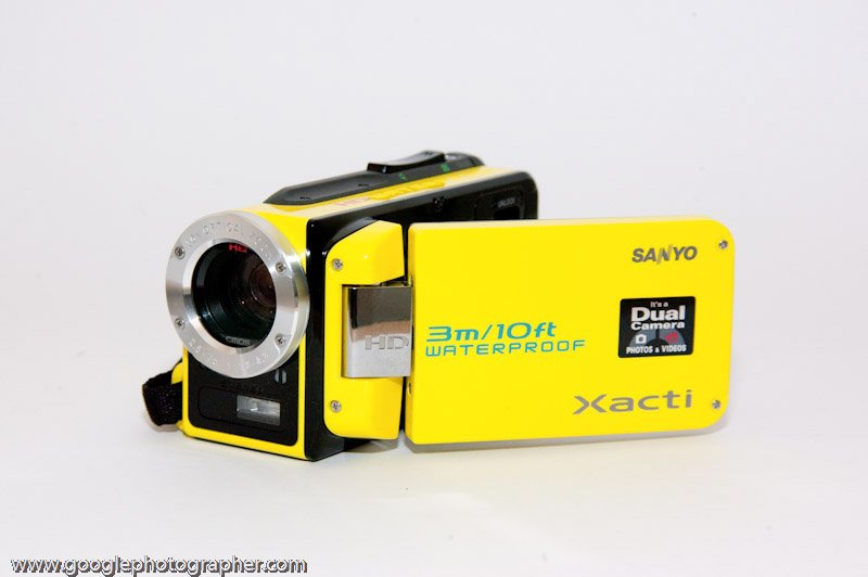 Movie Camera Product Photography