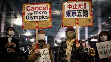 Remove term: public pressure for the cancellation of the Tokyo Olympics began to grow public pressure for the cancellation of the Tokyo Olympics began to grow