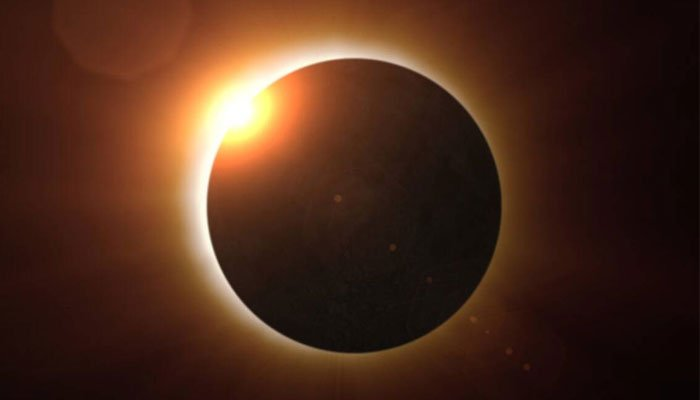 'First solar eclipse of the year'