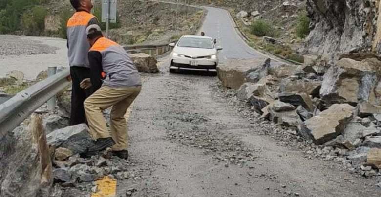 گلگت بلتستان: شاہراہِ قراقرم دو روز بعد ٹریفک کیلئے بحال