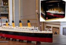 لیگو کمپنی نے ٹائیٹینک جہاز کا ماڈل متعارف کروا دیا