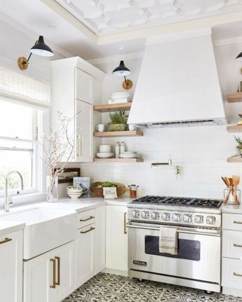 40 Best Modern Farmhouse Kitchen Decor Ideas And Design Trend In 2019 (38)
