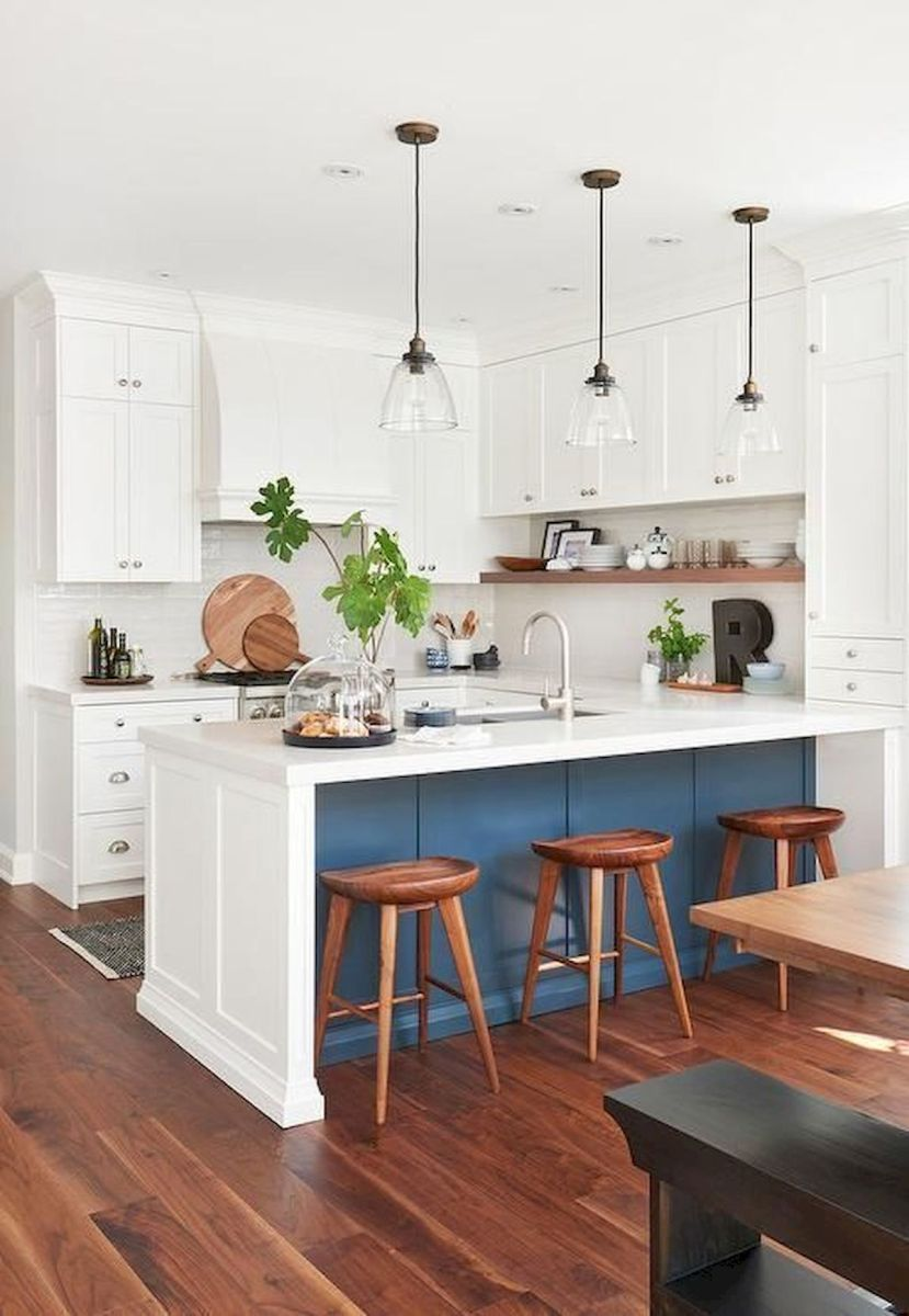 40 Best Modern Farmhouse Kitchen Decor Ideas And Design Trend In 2019 (6)