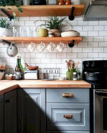 44 Best Farmhouse Kitchen Cabinets Design Ideas And Decor (18)
