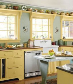 44 Best Farmhouse Kitchen Cabinets Design Ideas And Decor (27)