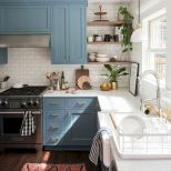 44 Best Farmhouse Kitchen Cabinets Design Ideas And Decor (29)