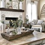 50 Adorable Farmhouse Living Room Furniture Design Ideas And Decor (47)