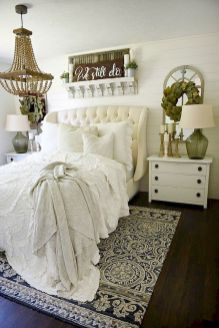 50 Awesome Farmhouse Bedroom Decor Ideas And Remodel (8)