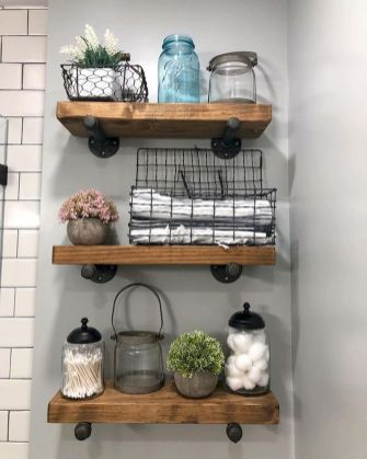 50 Awesome Industrial Farmhouse Design Ideas to Complement Your Home In 2019 (13)