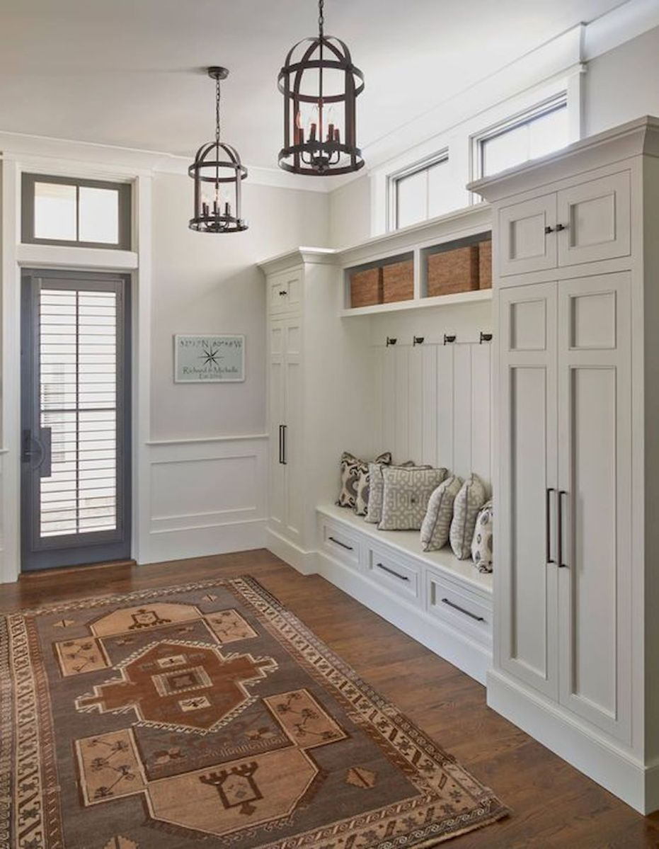 50 Best Farmhouse Entryway Design Ideas You Must Try In 2019 (16)