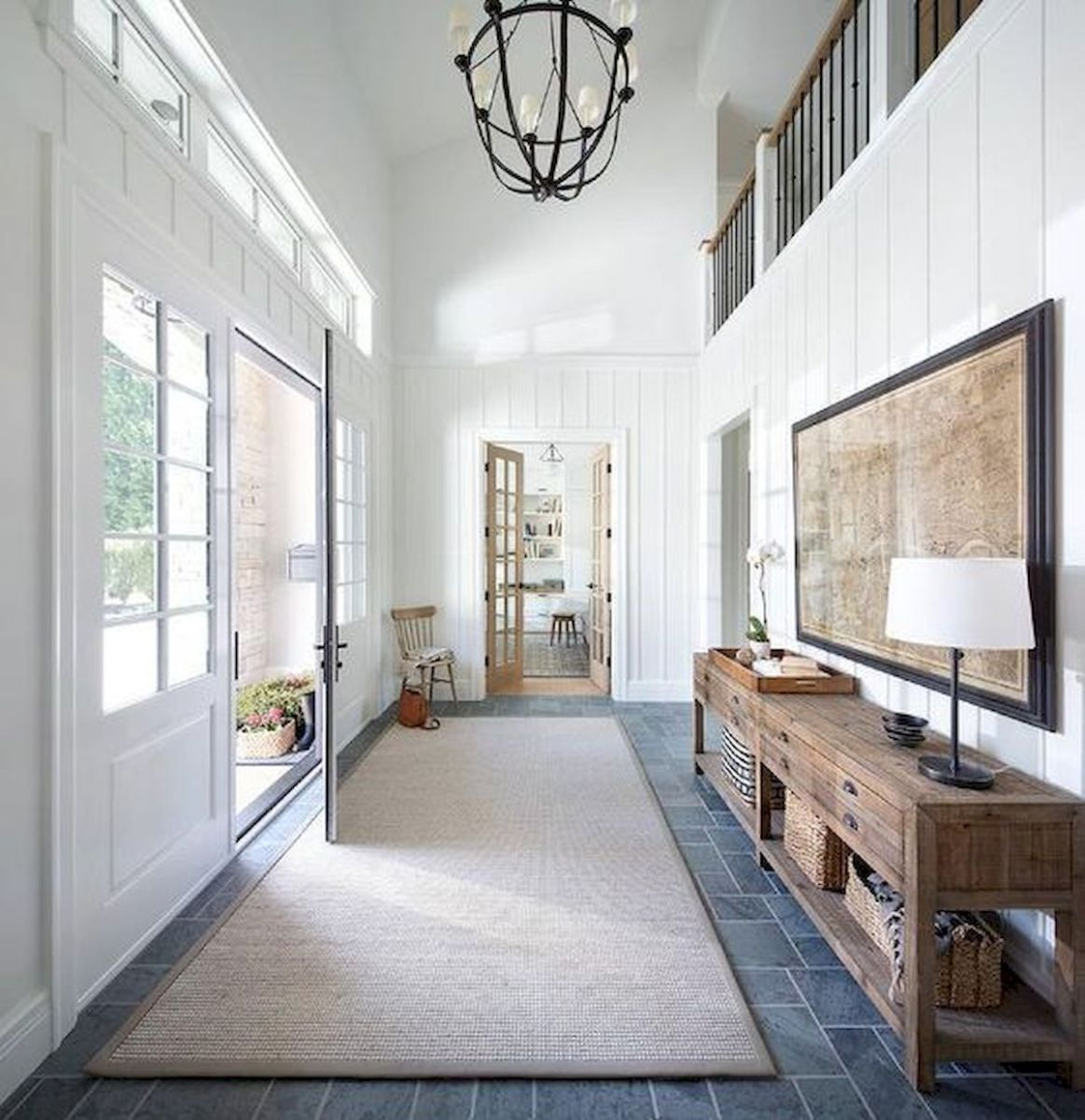 50 Best Farmhouse Entryway Design Ideas You Must Try In 2019 (21)