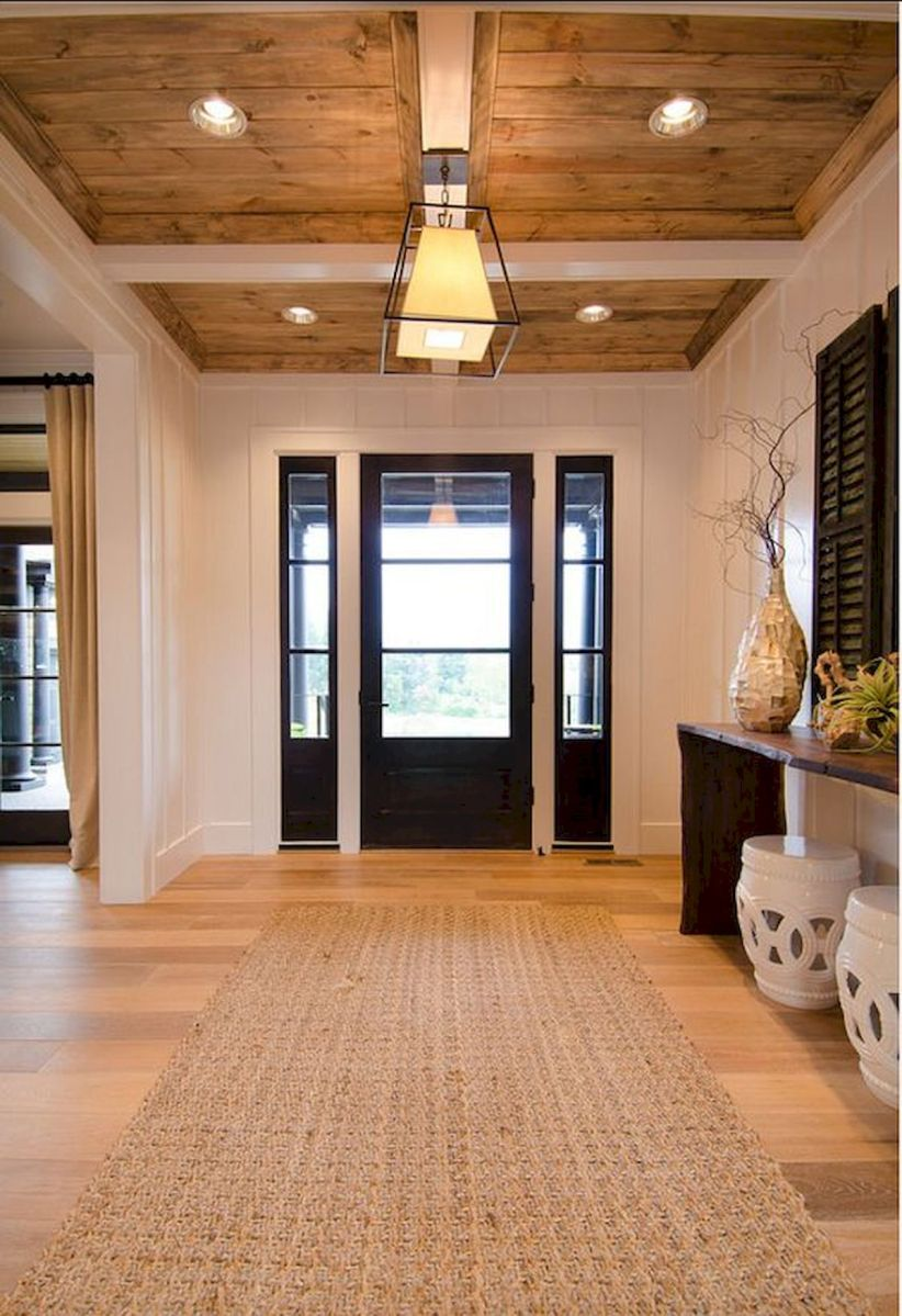 50 Best Farmhouse Entryway Design Ideas You Must Try In 2019 (34)