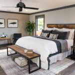 50 Modern Farmhouse Bedroom Decor Ideas Makes You Dream Beautiful In 2019 (2)