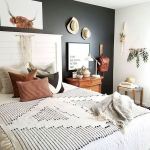 50 Modern Farmhouse Bedroom Decor Ideas Makes You Dream Beautiful In 2019 (28)