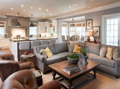 55 Incredible Farmhouse Living Room Sofa Design Ideas And Decor (8)