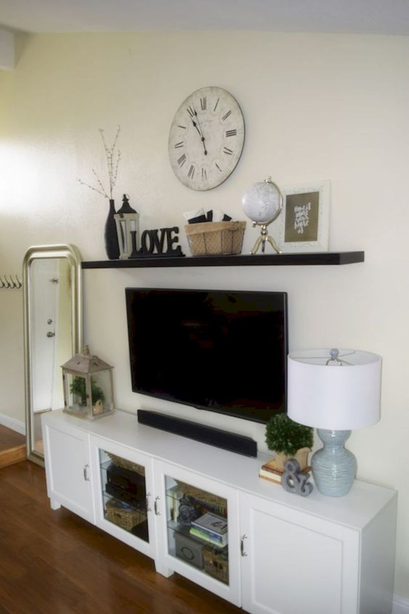 60 Beautiful Farmhouse TV Stand Design Ideas And Decor (17)