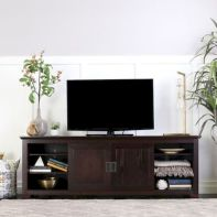 60 Beautiful Farmhouse TV Stand Design Ideas And Decor (34)
