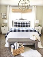 60 Best Farmhouse Bedroom Furniture Design Ideas And Decor (15)