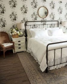 60 Best Farmhouse Bedroom Furniture Design Ideas And Decor (39)
