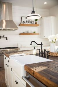60 Great Farmhouse Kitchen Countertops Design Ideas And Decor (36)