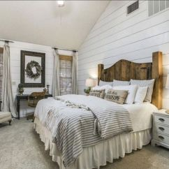 69 Best Farmhouse Bedding Decor Ideas And Remodel (19)