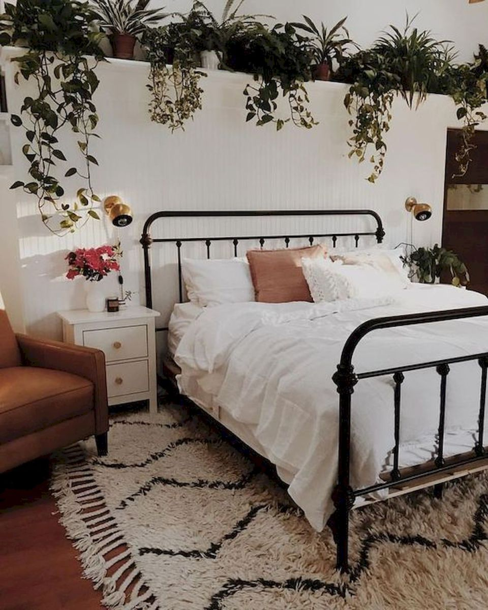 69 Best Farmhouse Bedding Decor Ideas And Remodel (33)