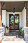 70 Beautiful Farmhouse Front Door Design Ideas And Decor (11)