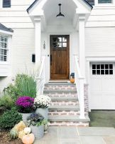 70 Beautiful Farmhouse Front Door Design Ideas And Decor (30)