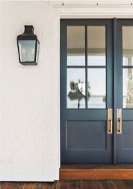 70 Beautiful Farmhouse Front Door Design Ideas And Decor (5)