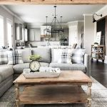 70 Best Farmhouse Living Room Decor Ideas And Remodel (14)
