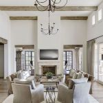 70 Best Farmhouse Living Room Decor Ideas And Remodel (19)