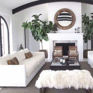 70 Best Farmhouse Living Room Decor Ideas And Remodel (37)