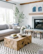 70 Best Farmhouse Living Room Decor Ideas And Remodel (4)