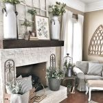 70 Best Farmhouse Living Room Decor Ideas And Remodel (58)