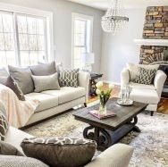 70 Best Farmhouse Living Room Decor Ideas And Remodel (59)