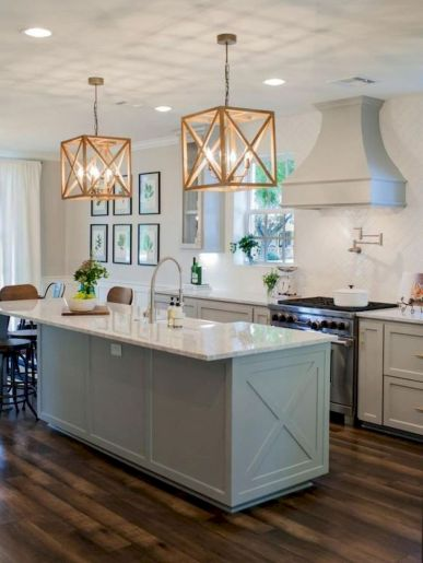 77 Best Farmhouse Kitchen Decor Ideas And Remodel (10)
