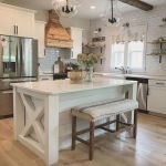 77 Best Farmhouse Kitchen Decor Ideas And Remodel (24)