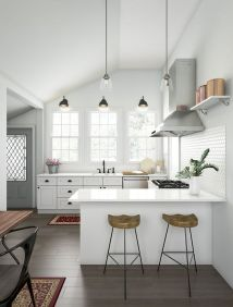 77 Best Farmhouse Kitchen Decor Ideas And Remodel (47)