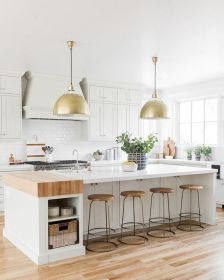 77 Best Farmhouse Kitchen Decor Ideas And Remodel (62)