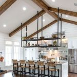 77 Best Farmhouse Kitchen Decor Ideas And Remodel (65)