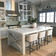 77 Best Farmhouse Kitchen Decor Ideas And Remodel (67)